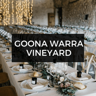 Goona Warra Vineyard Wedding