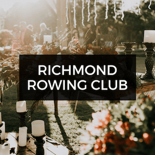 Richmond Rowing Club Wedding
