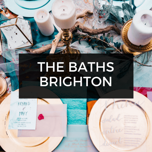 The Baths Middle Brighton Wedding