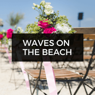 Waves on the Beach Wedding