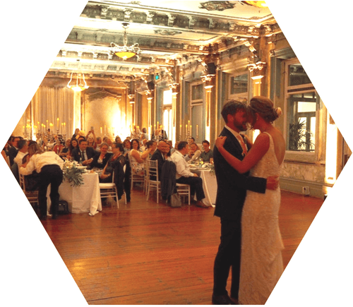The George Ballroom Wedding